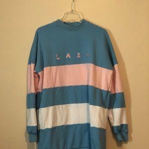 Lazy Oaf Color Block Sweater